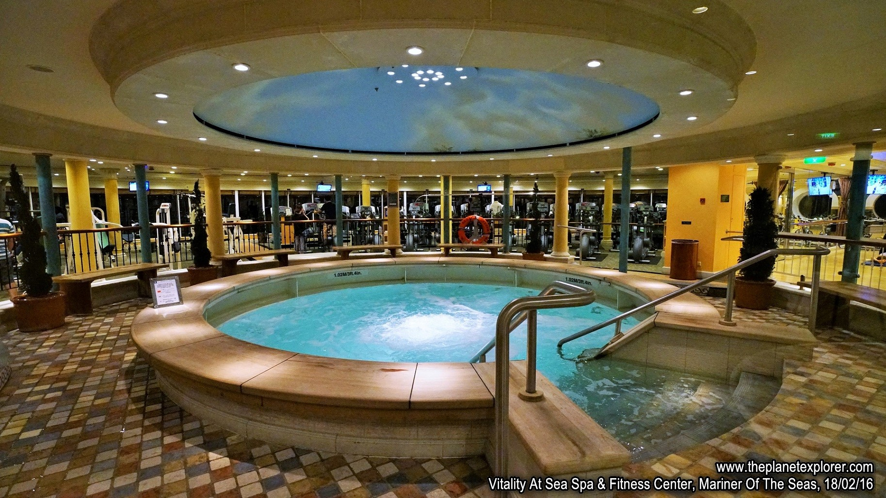 Mariner Of The Seas Feb 2016 The Planet Explorer : 2016 02 182230Mariner Of The SeasVitality At Sea Spa Fitness CenterDSC04927s7R2LRwww from www.theplanetexplorer.com size 1827 x 1028 jpeg 637kB